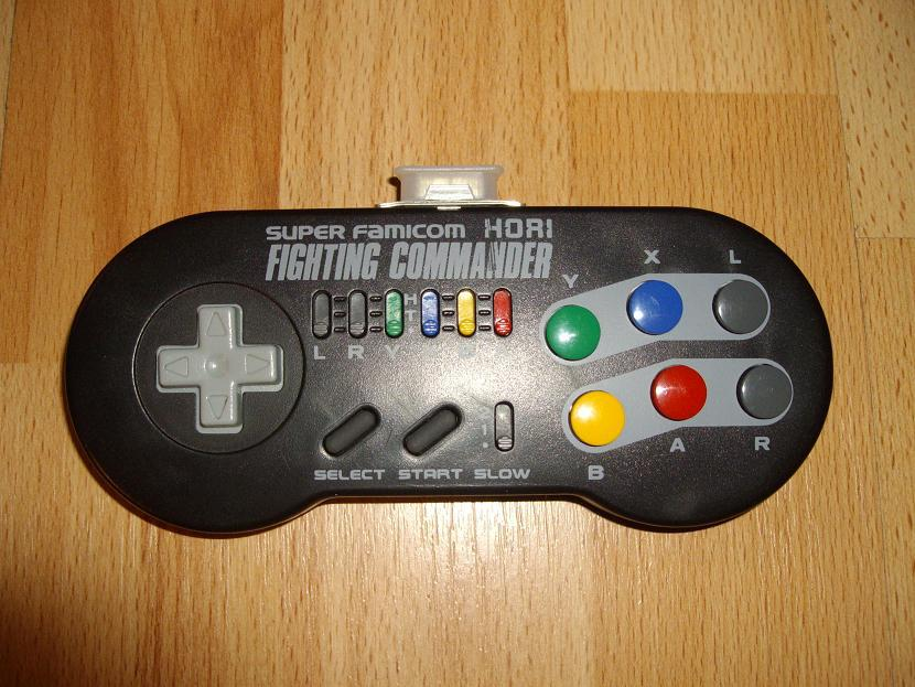 Hori Fighting Commander, the best retro controller ever