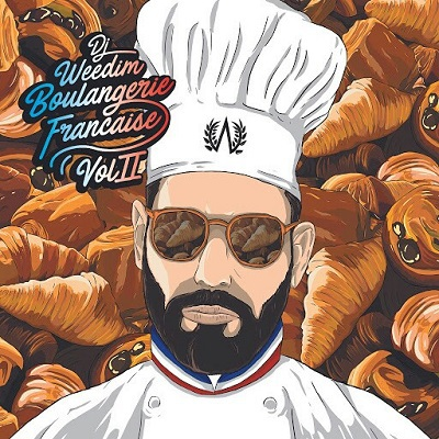 DJ Weedim - Boulangerie francaise Vol. 2 (2018)