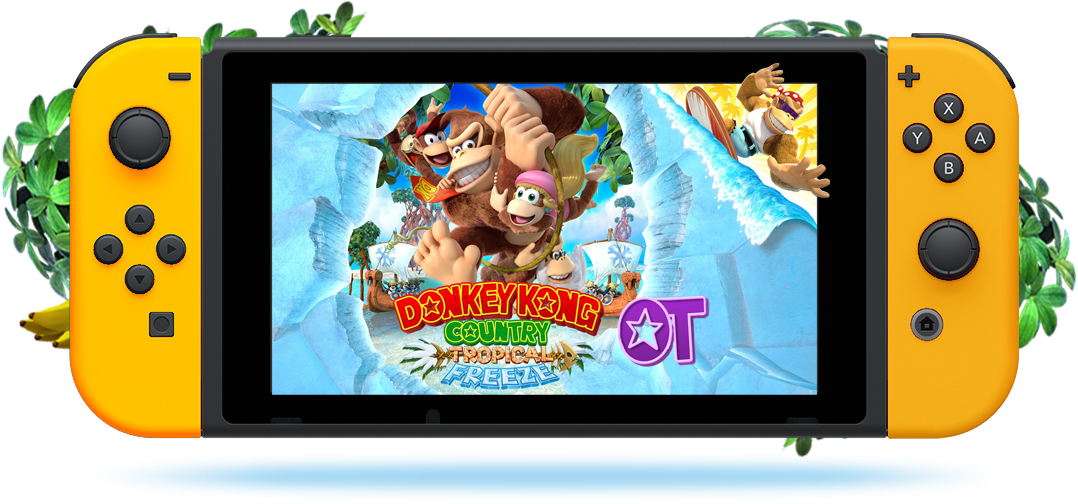 donkey kong country tropical freeze ot donkey s got a brand new