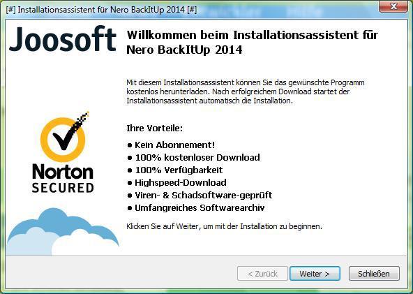 mitgelieferte werbesoftware entfernen