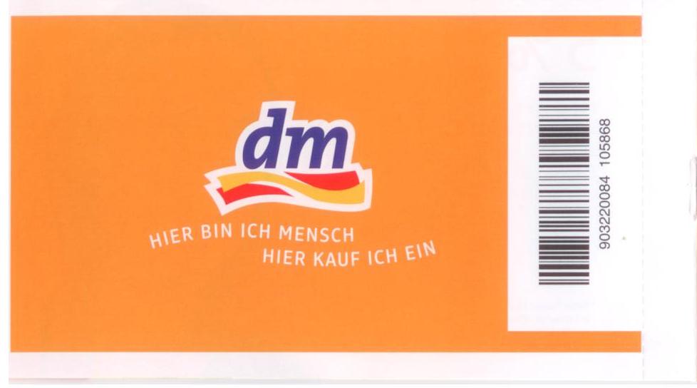coupons gratis dm