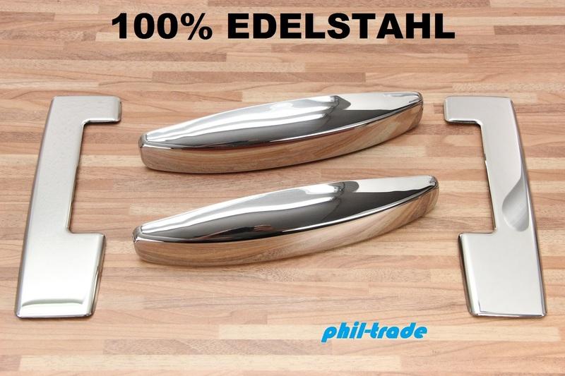 phil trade Edelstahl T/ÜRGRIFFE BLENDEN