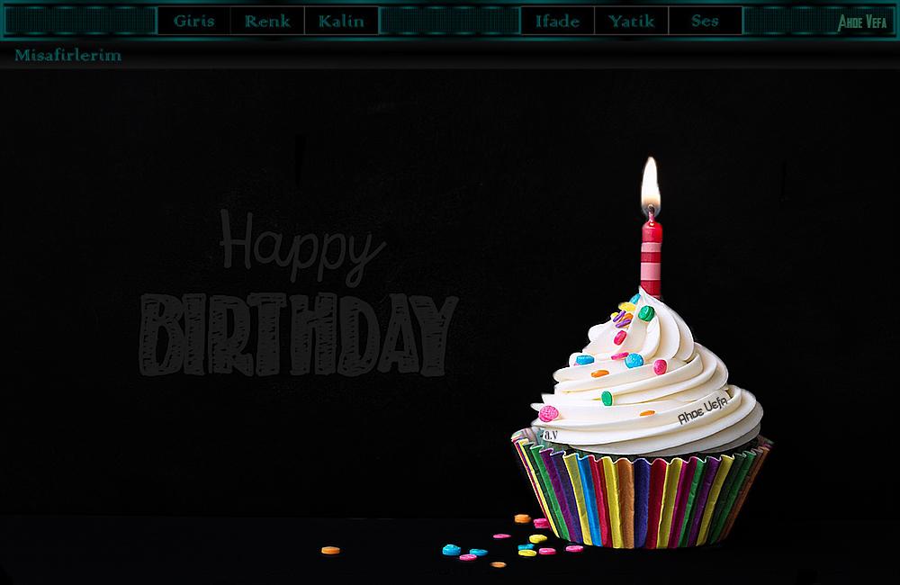 Doğum Günü Radyo Tema
