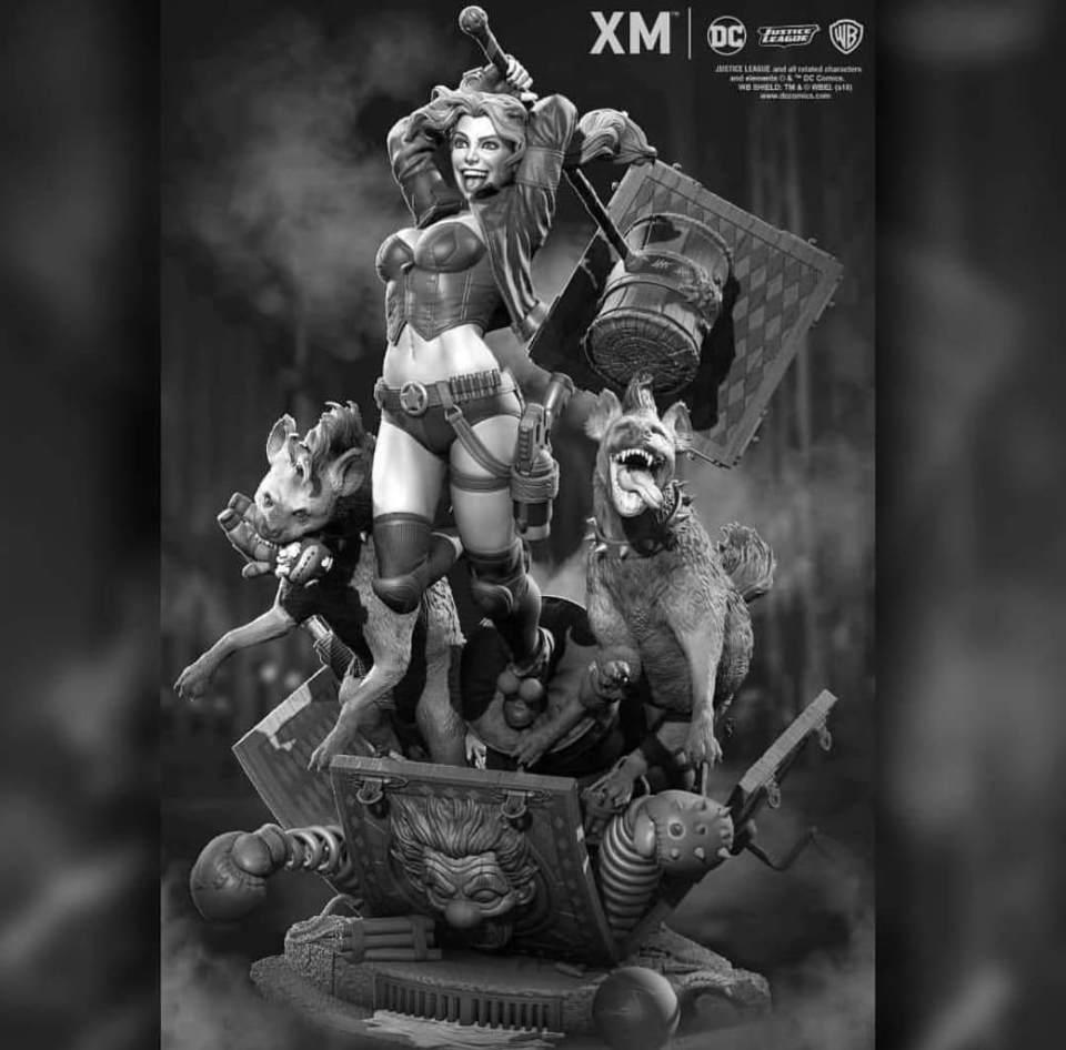Premium Collectibles : Harley Quinn 1/6 Dpvgjp89rc7v