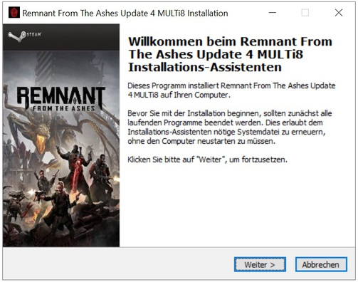 Remnant from the ashes update