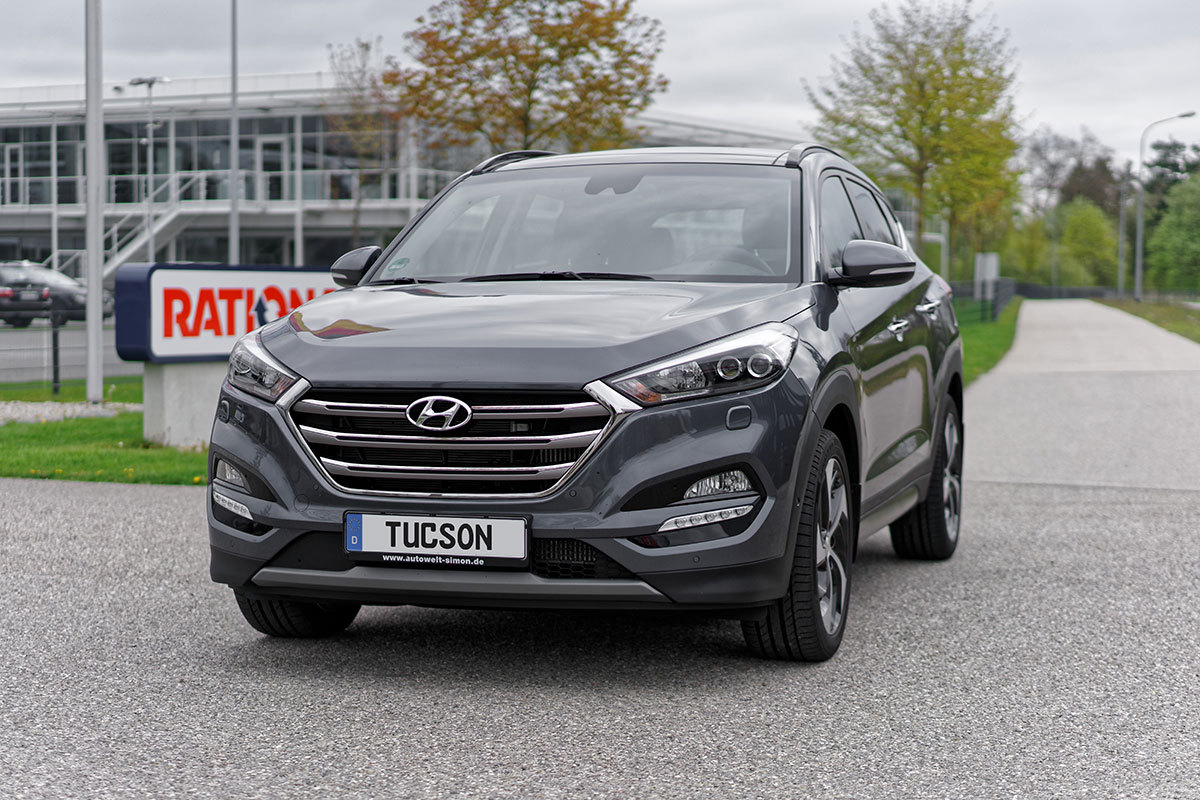hyundai tucson impression 2 0 crdi at 4wd micron grey metallic hyundai tucson hyundai tucson. Black Bedroom Furniture Sets. Home Design Ideas