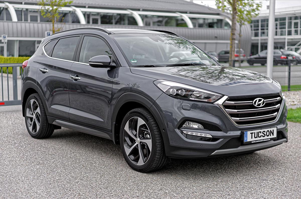 Hyundai Tucson Impression 2 0 Crdi At 4wd Micron Grey
