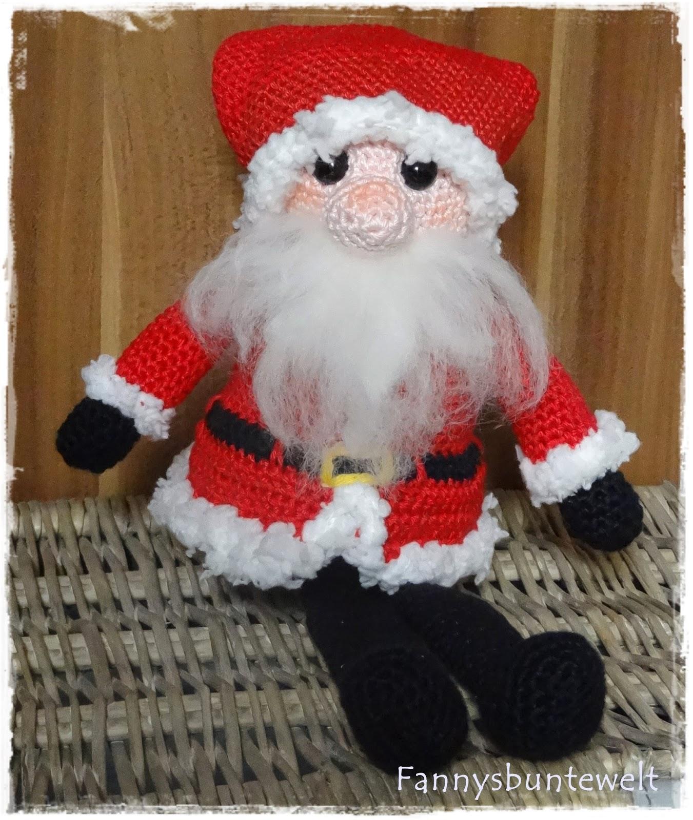 Amigurumi Weihnachtsmann häkeln