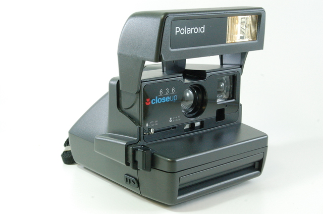 polaroid 636 closeup instant camera boxed 600 film tested ebay. Black Bedroom Furniture Sets. Home Design Ideas