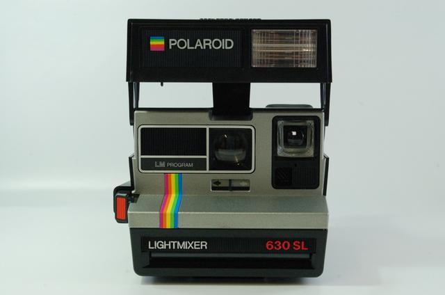 polaroid lightmixer 630 sl instant camera film type 600 tested ebay. Black Bedroom Furniture Sets. Home Design Ideas