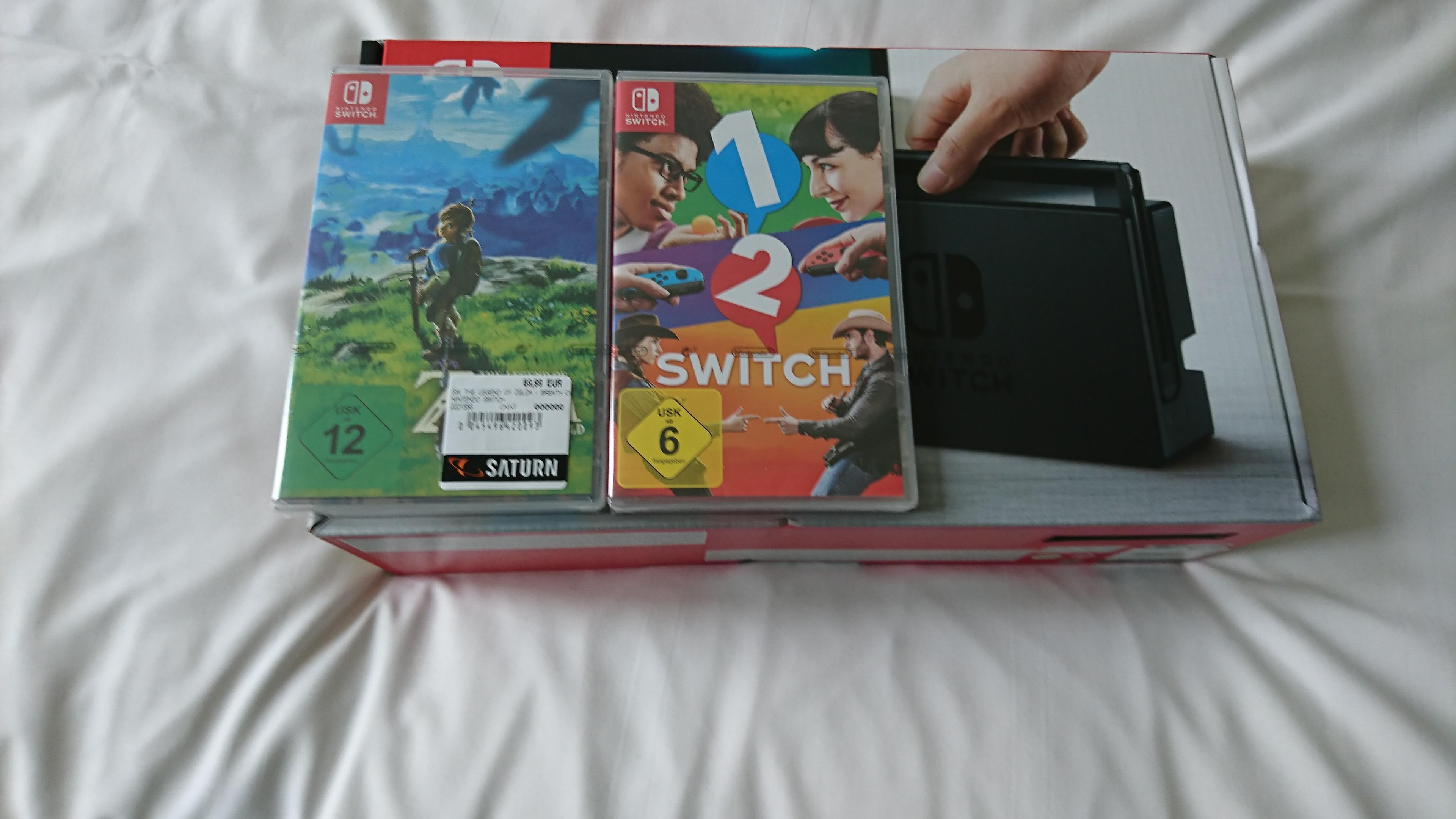 Nintendo Switch + 1 2 Switch + Zelda: BotW