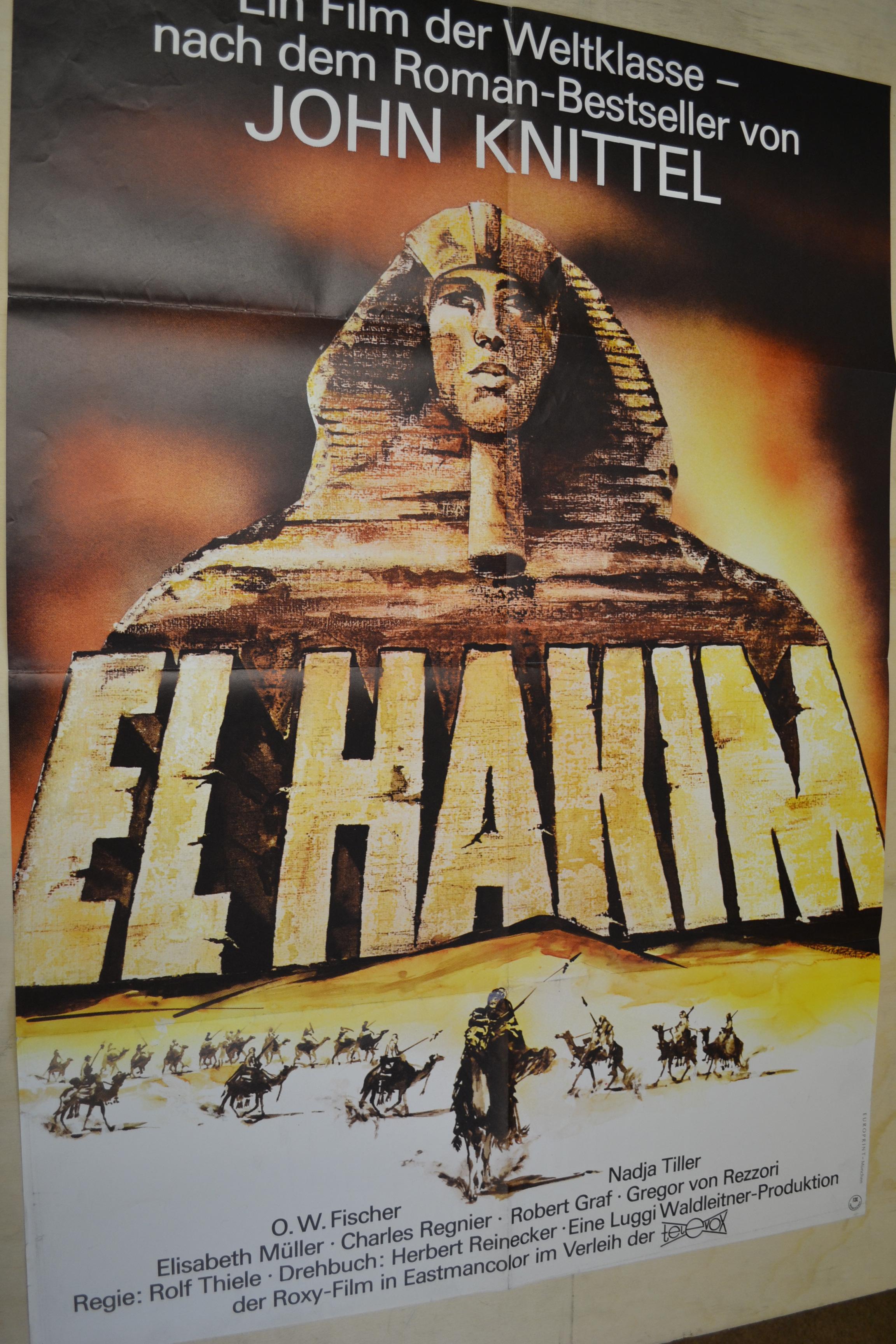 EL HAKIM - Filmplakat A1 - O.W. FISCHER - NADJA TILLER - AF698   eBay