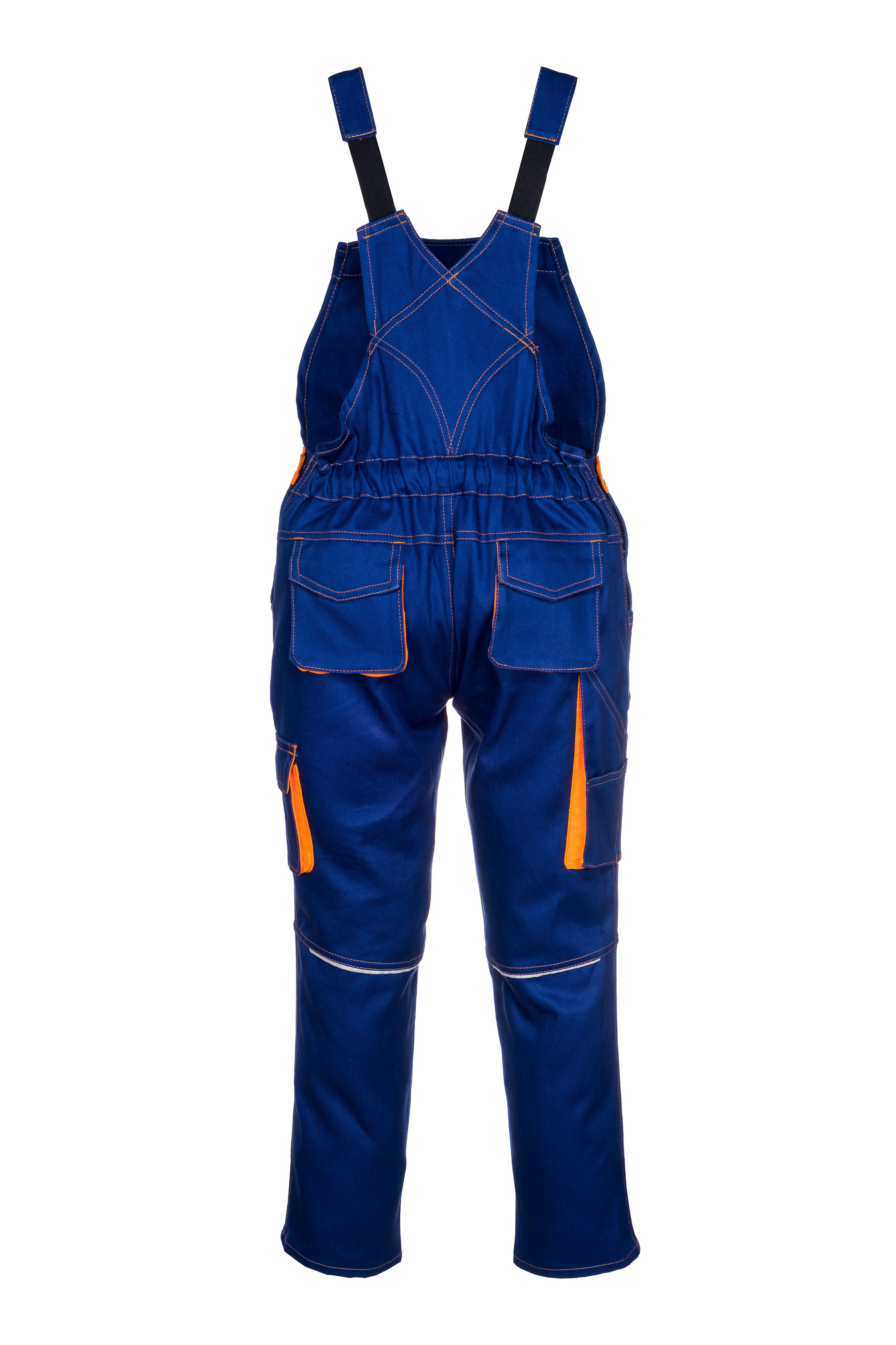 46 BP Basic Latzhose 106 dunkelblau mit Metallschnallen Gr 48 102