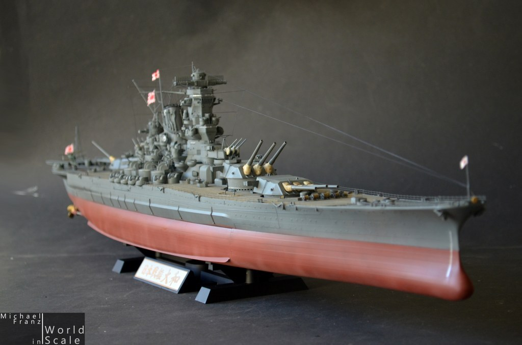 IJN YAMATO - 1/350 by Tamiya (New Tool) - Non-LSP Works - Large