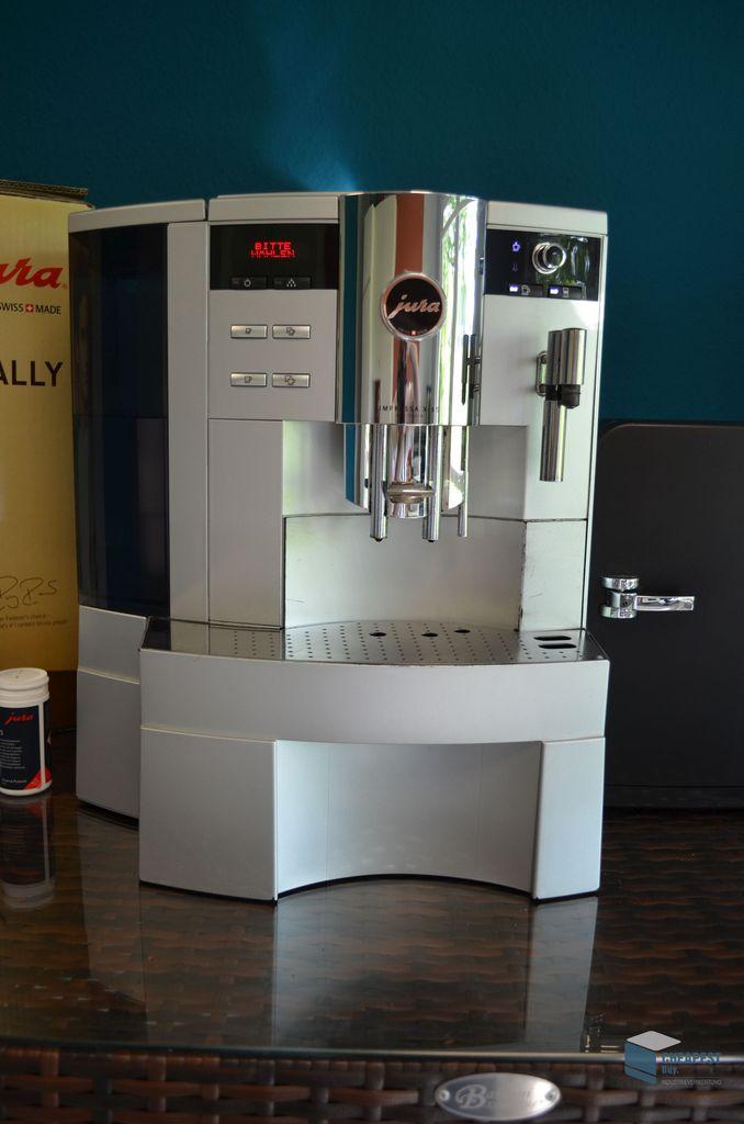 jura impressa xs 95 one touch kaffee automat inkl. Black Bedroom Furniture Sets. Home Design Ideas