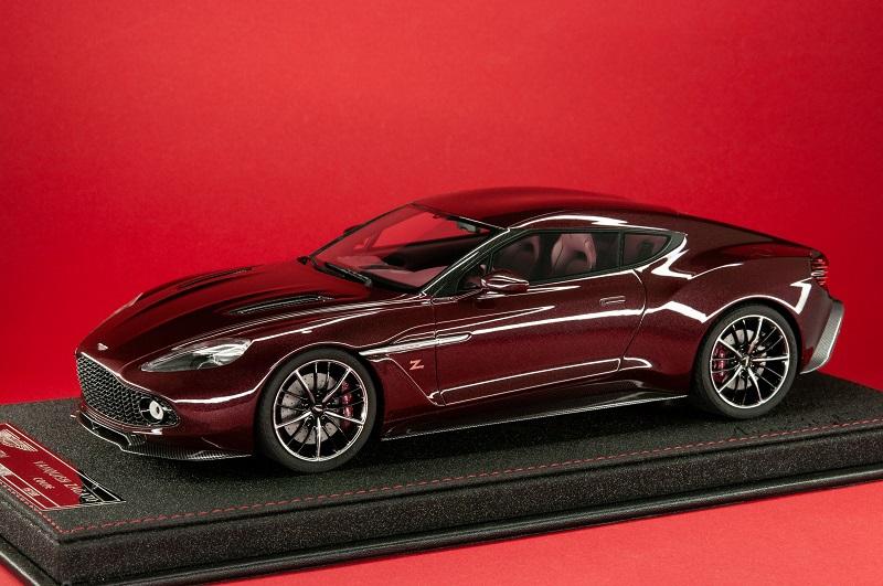 Avanstyle Aston Martin Vanquish Zagato Coupé In Divine Red Originale Modelle Modelcarforum