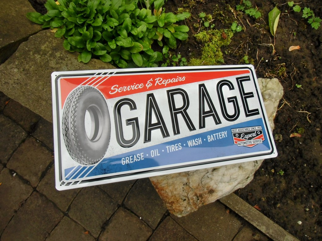 Superb LARGE Volkswagen Service /& Repairs Garage Tin Plate Wall Sign 25cm x 50cm