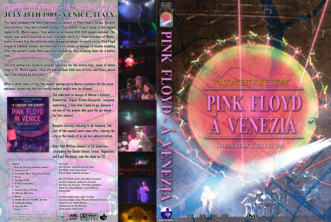 Pink Floyd - 1989-07-15 Venice, Italy (A Venezia) [HRV DVD 003 RevA