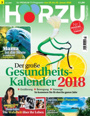 : Hörzu Fernsehzeitschrift No 03 vom 20-26 Januar 2018