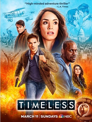 Timeless - Stagione 2 (2018) (8/10) DLMux ITA ENG MP3 Avi