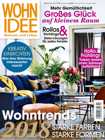 : Wohnidee (Wohnen und Leben) Magazin Februar No 02 2018