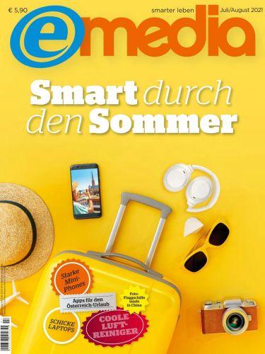 Cover: e-Media Magazin Hardware Software Internet No 07-08 Juli-August 2021