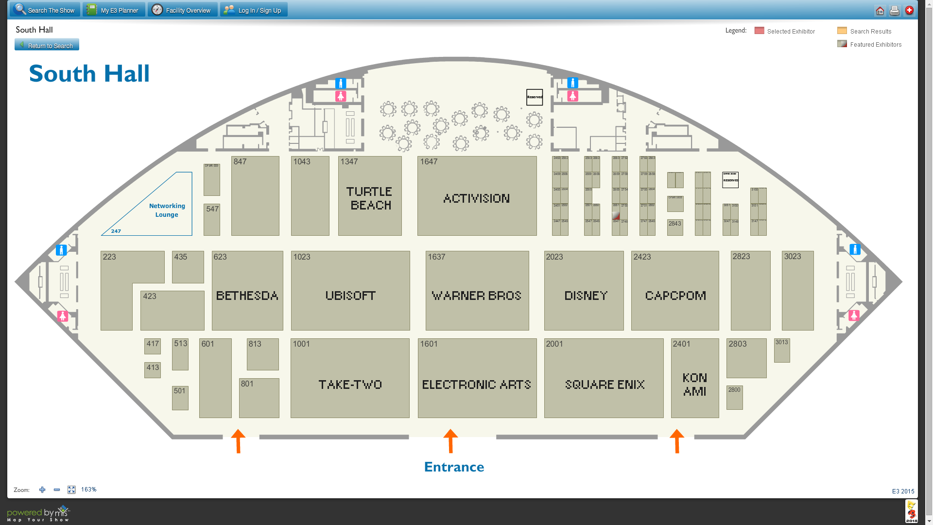 E3 2015 Floor Plan Released Square Enix And Disney Booths Can Be Found Next To Each Other Kingdom Hearts News Kh13 For Kingdom Hearts