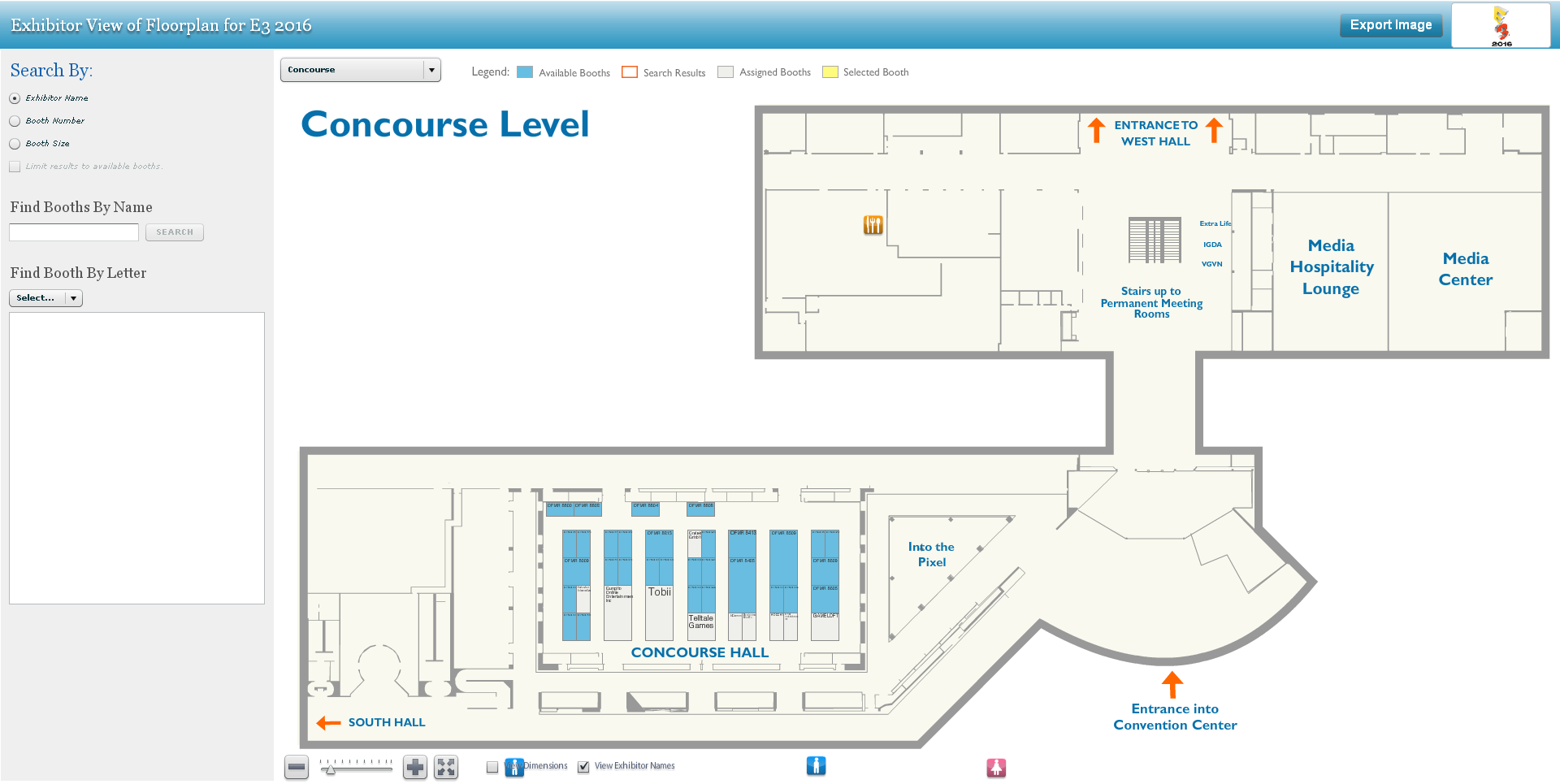 The E3 2016 Floor Plans Are Up Preliminary Partially Neogaf