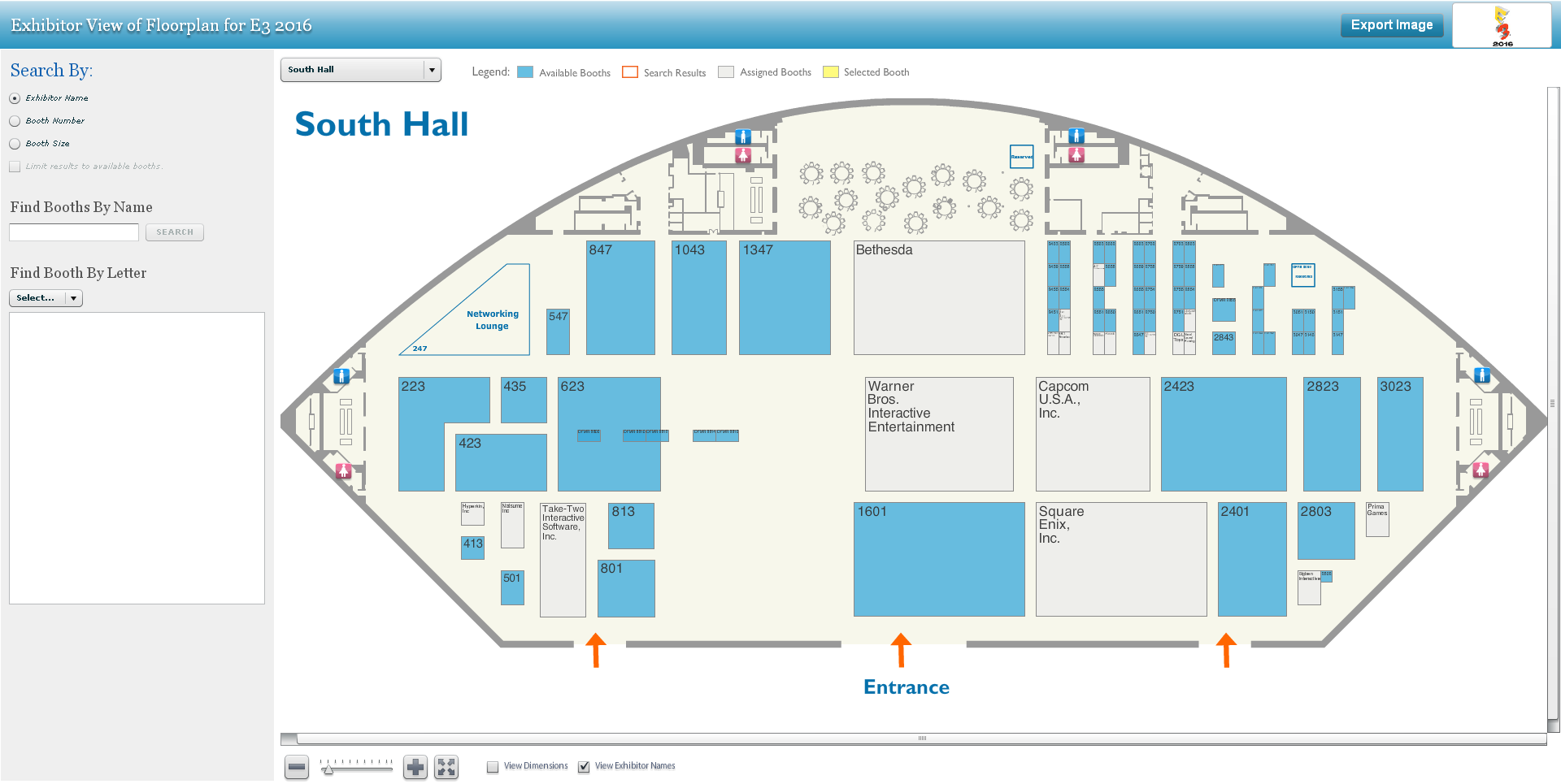 E3 2016 Floor Plan Released Square Enix Will Have The Same Booth As Last Year S E3 Kingdom Hearts News Kh13 For Kingdom Hearts