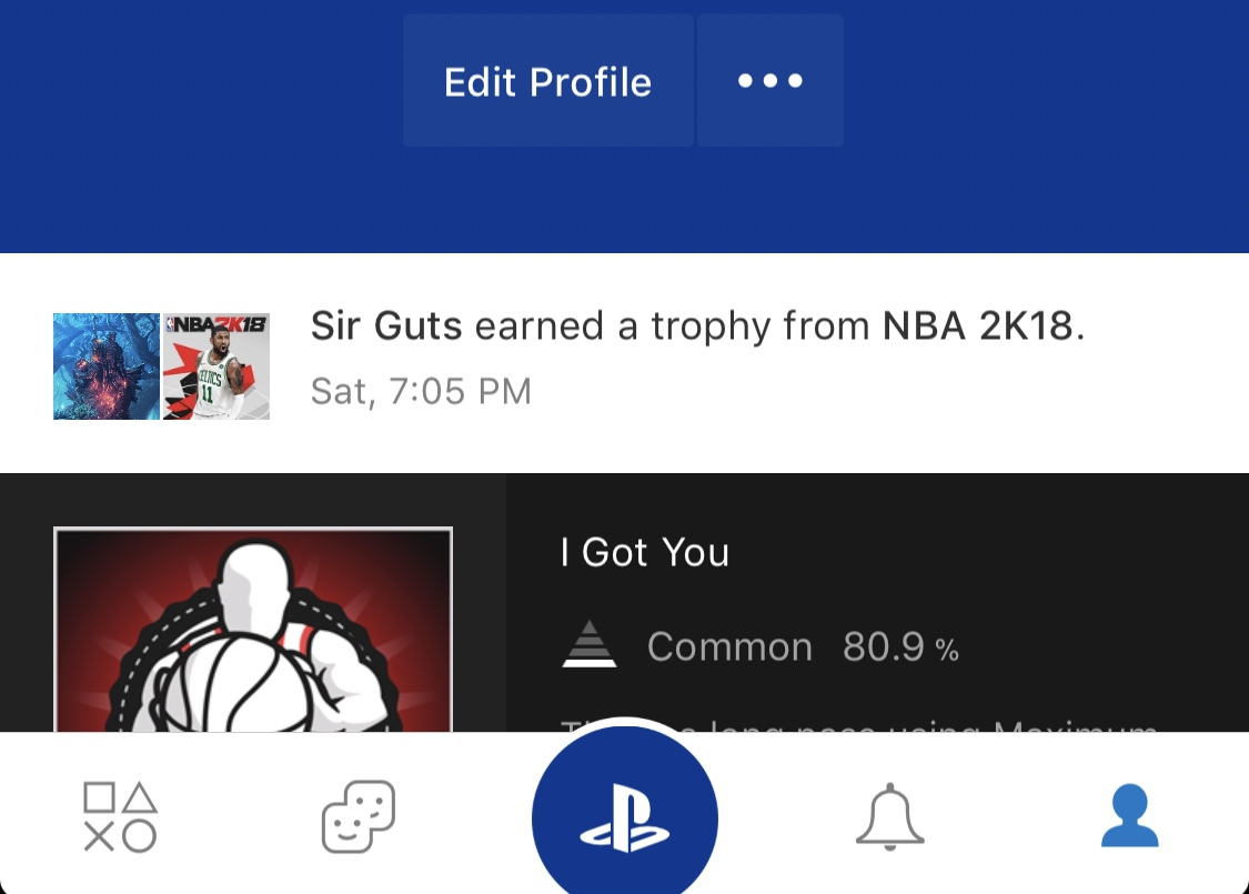 PS trophies not showing on general feed nor profile activity? | ResetEra