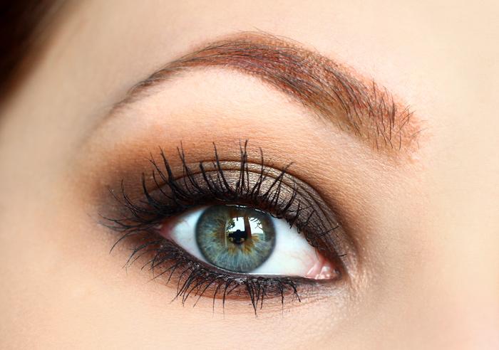 beauty how to matte brown smokey eyes rauschgiftengel. Black Bedroom Furniture Sets. Home Design Ideas