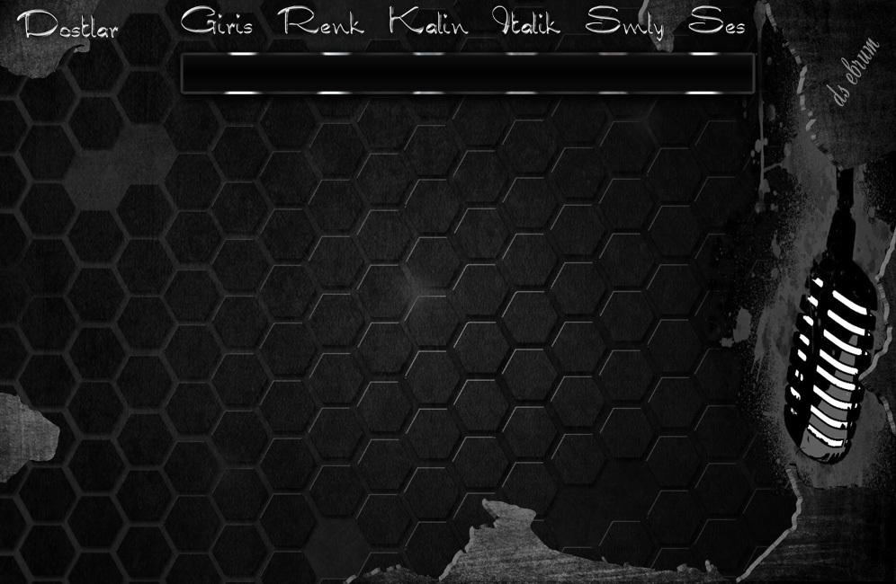 Ebrumm06 Siyah beyaz mikrofon tema