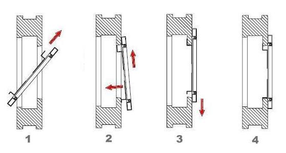 Häufig Fliegengitter für Fenster Alu Rahmen Insektenschutz Gitter selber DK39
