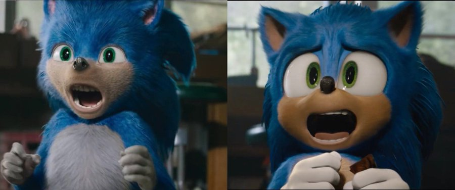 New Trailer For Sonic The Hedgehog Movie New Design Resetera