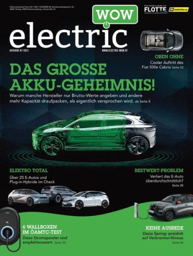 Cover: Electric Wow Magazin No 02 2021