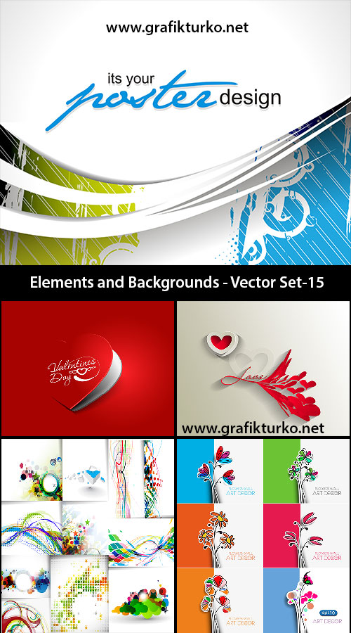 Elements and Background Set 15