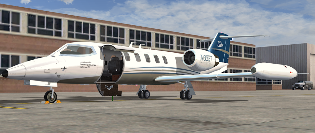 Flysimware - Learjet 35A v4 1A ~ Mi Simulador