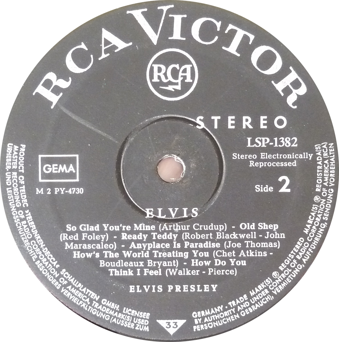 ELVIS Elvis_1956_1966_lsp_skpu37