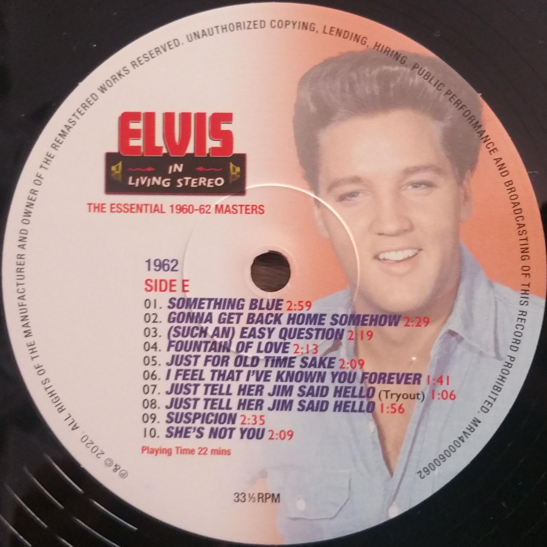 ELVIS IN LIVING STEREO (The Essentail 1960 - 1962 Masters) Elvisinlivingstereo10fjkc6