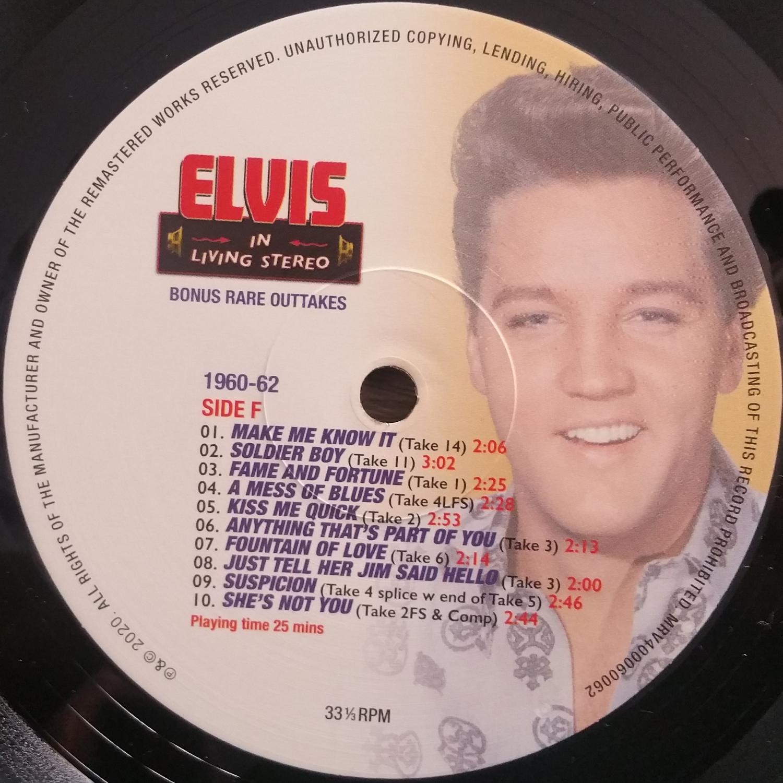 ELVIS IN LIVING STEREO (The Essentail 1960 - 1962 Masters) Elvisinlivingstereo11jbkbj
