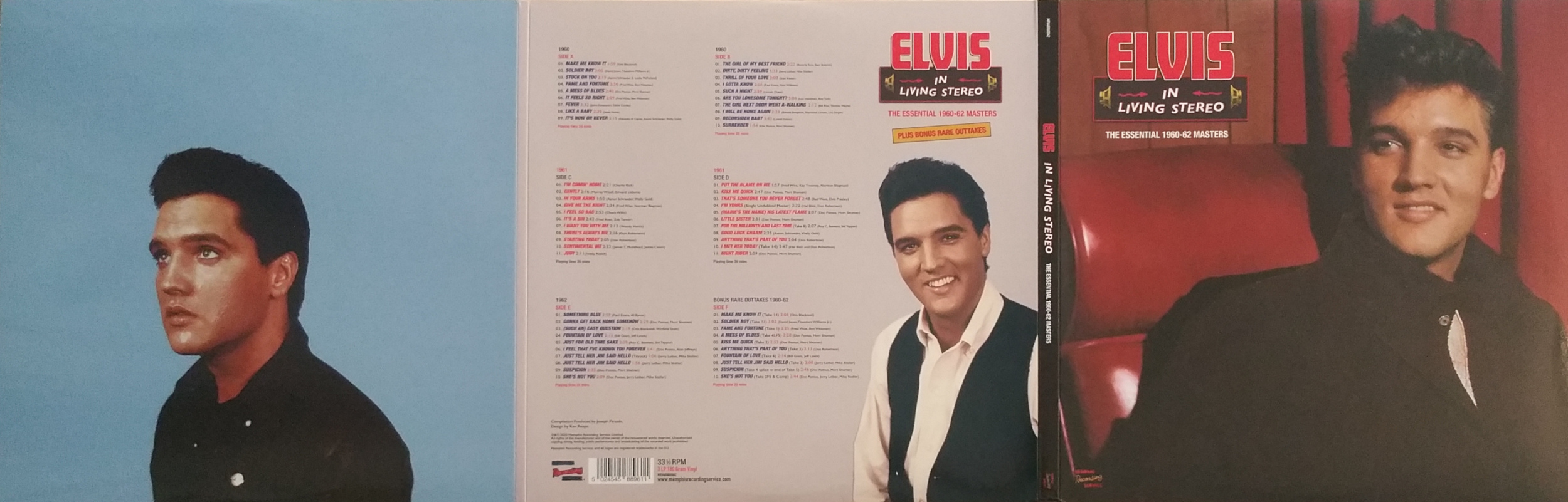 ELVIS IN LIVING STEREO (The Essentail 1960 - 1962 Masters) Elvisinlivingstereo2qfjnc