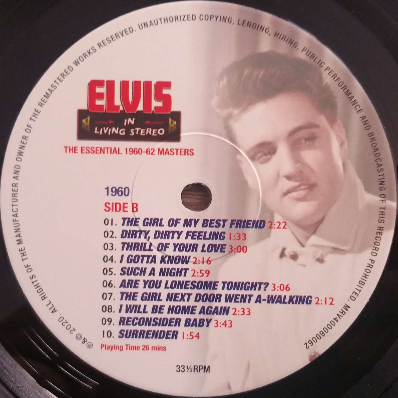 ELVIS IN LIVING STEREO (The Essentail 1960 - 1962 Masters) Elvisinlivingstereo7uojaj