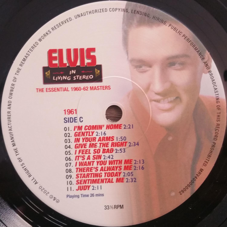 ELVIS IN LIVING STEREO (The Essentail 1960 - 1962 Masters) Elvisinlivingstereo8p0kre