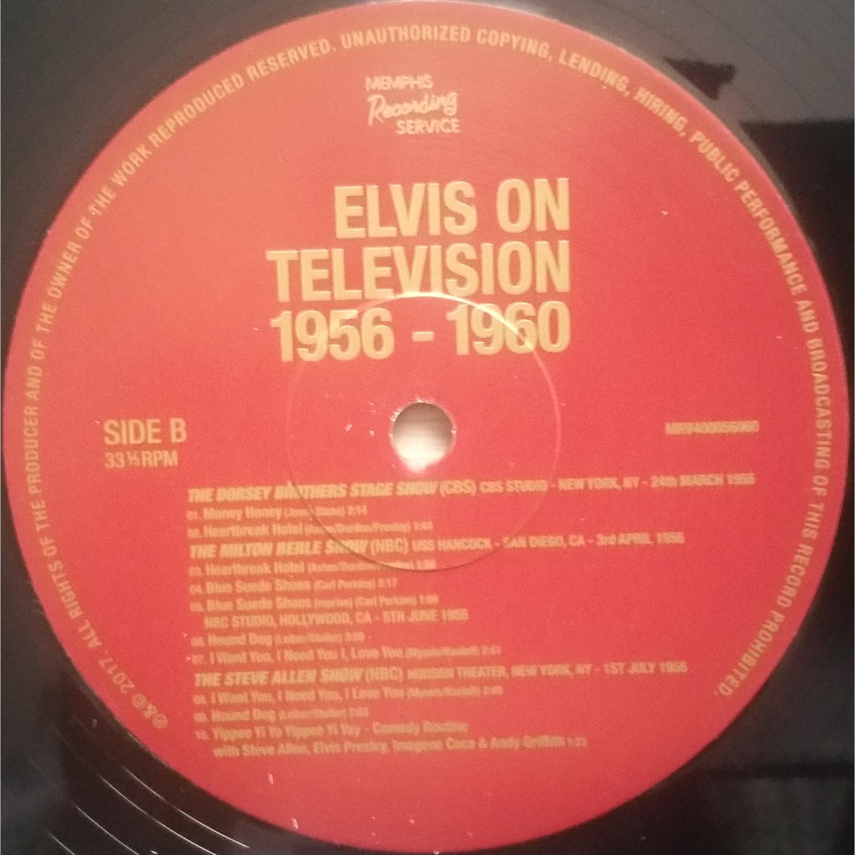 ELVIS ON TELEVISION 1956 - 60 Elvisontv181uksl