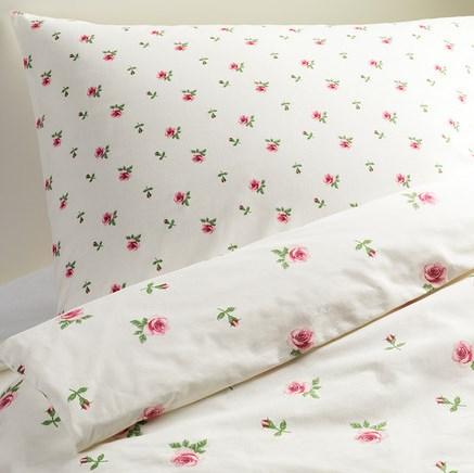ikea 2 tlg romantik bettw sche set emelina knopp rosali rosen 140x200 neu. Black Bedroom Furniture Sets. Home Design Ideas
