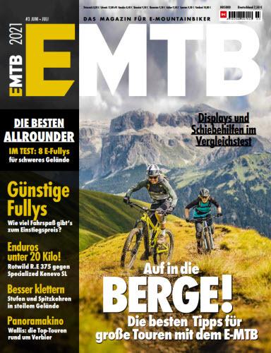 Cover: Emtb Das Magazin für E-Mountainbiker No 01 2021