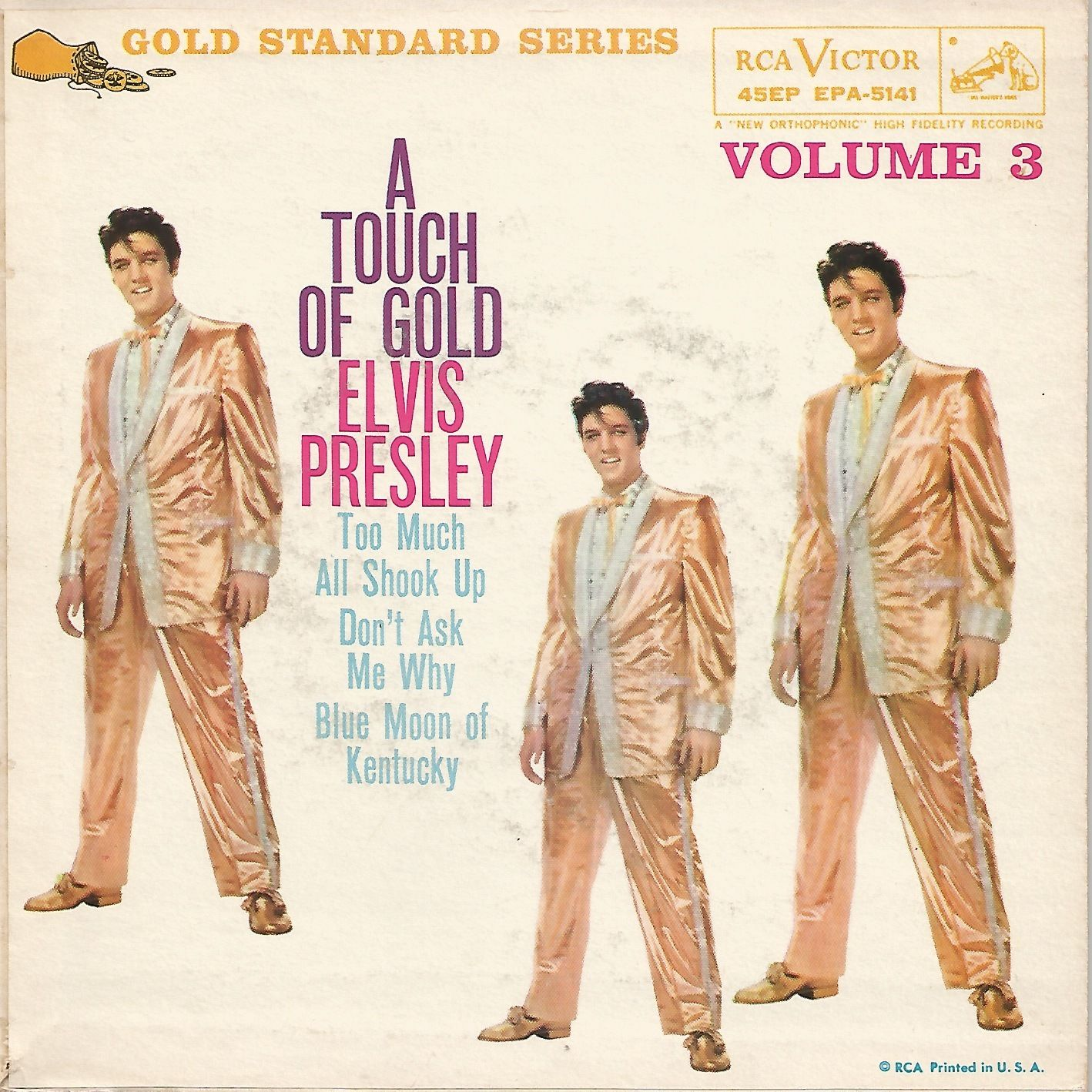 A TOUCH OF GOLD VOL. 3 Epa-5141ayss68