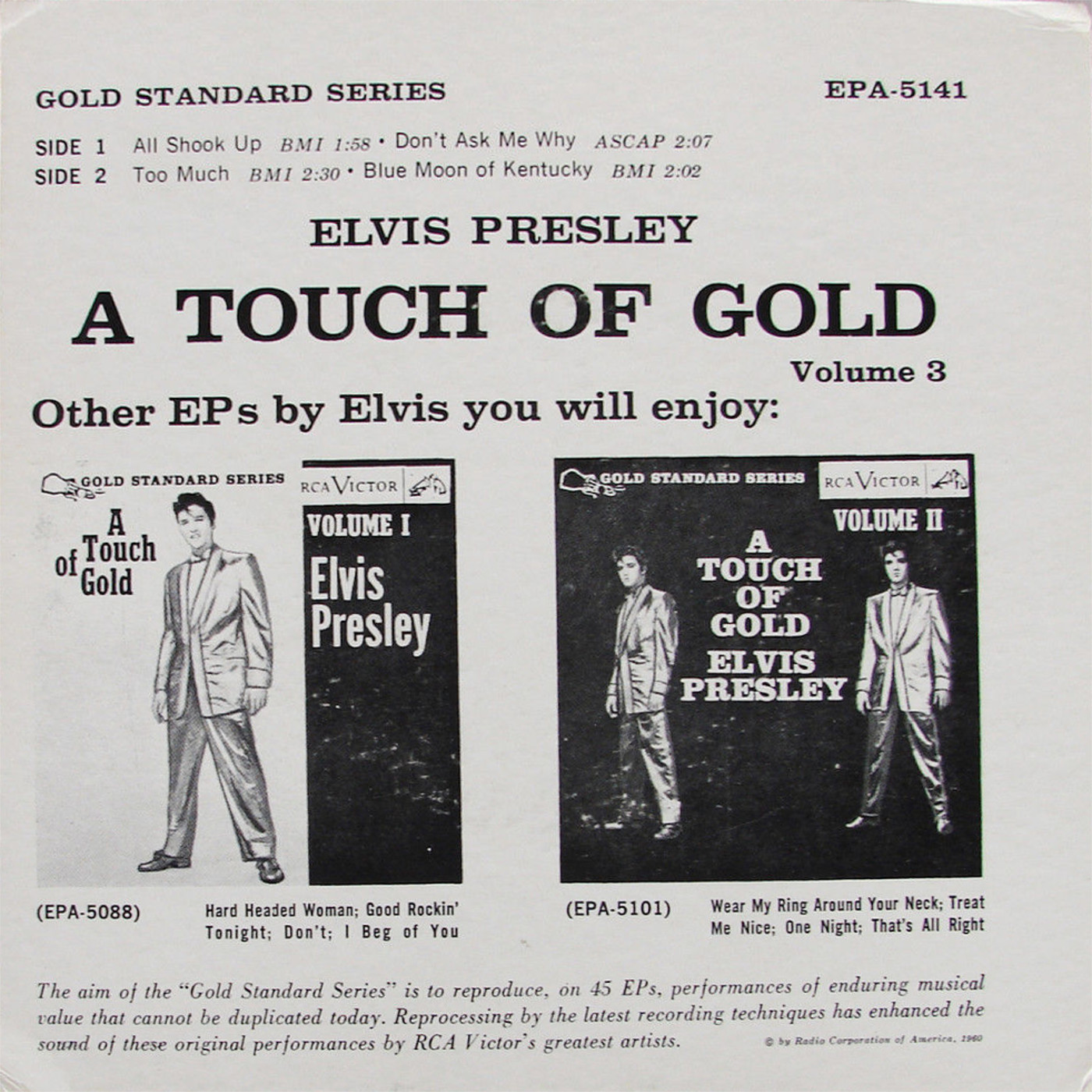 A TOUCH OF GOLD VOL. 3 Epa-5141fg0s78