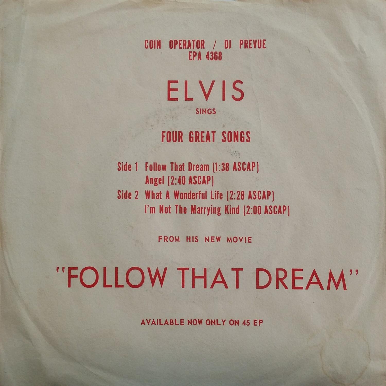 FOLLOW THAT DREAM Epa4368aons3n