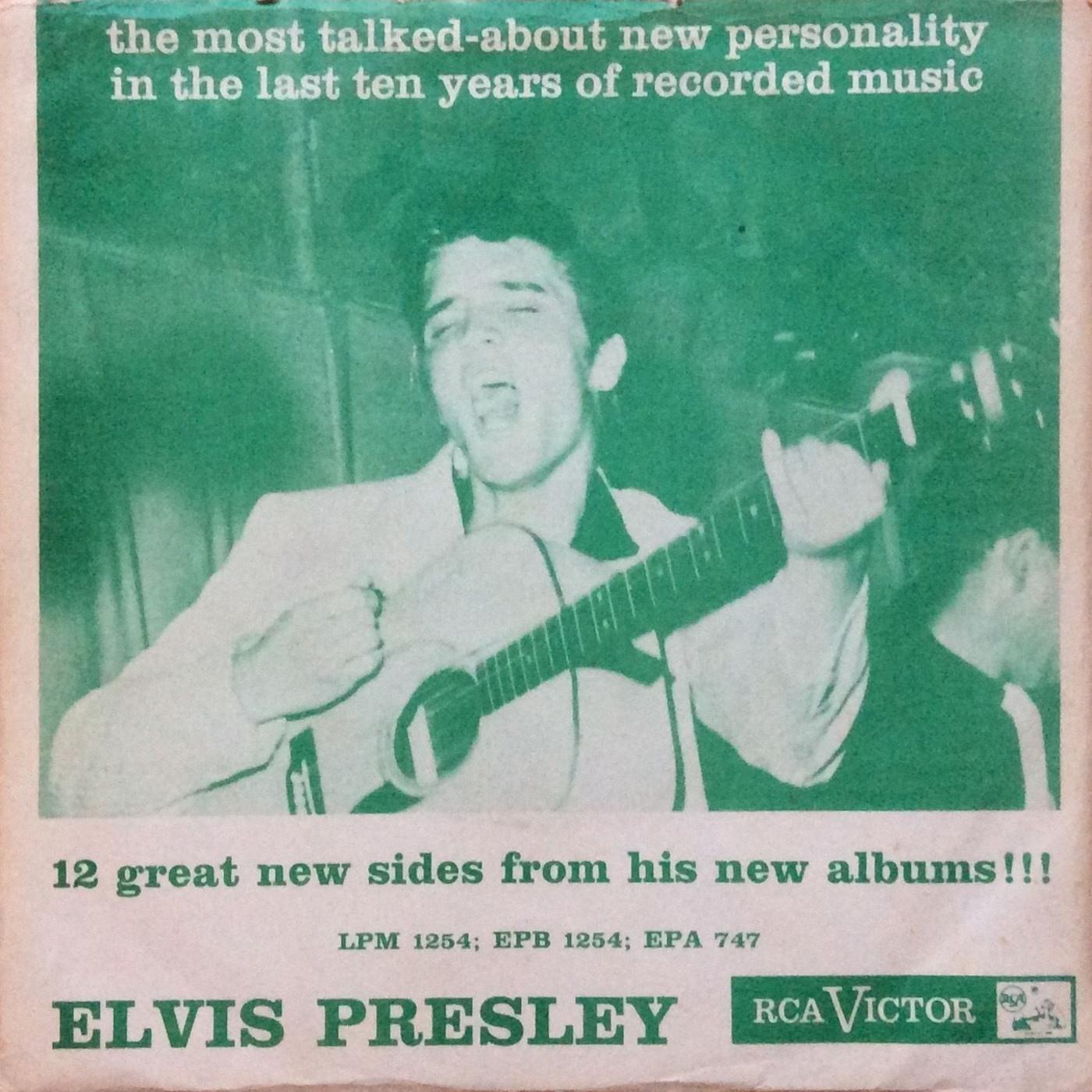 ELVIS PRESLEY Epb1254a0lxnx